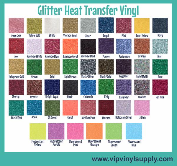Glitter Heat Transfer Vinyl by the sheet, Stahls' CAD-CUT® Glitter Flake 12x12 inch Sheets