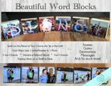 "2.5"" Blocks - Personalized Photo Blocks"