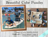 Personalized Cube Block Puzzle in Box