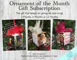 Ornament of the Month - Personalized Photo Cube Ornament