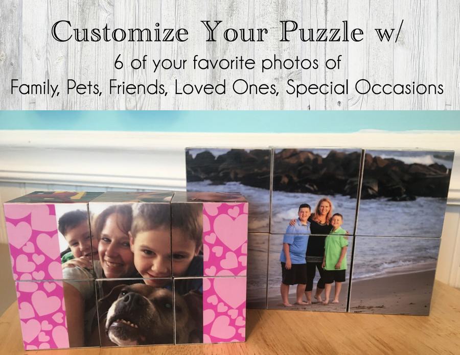 Personalized Cube Block Puzzle