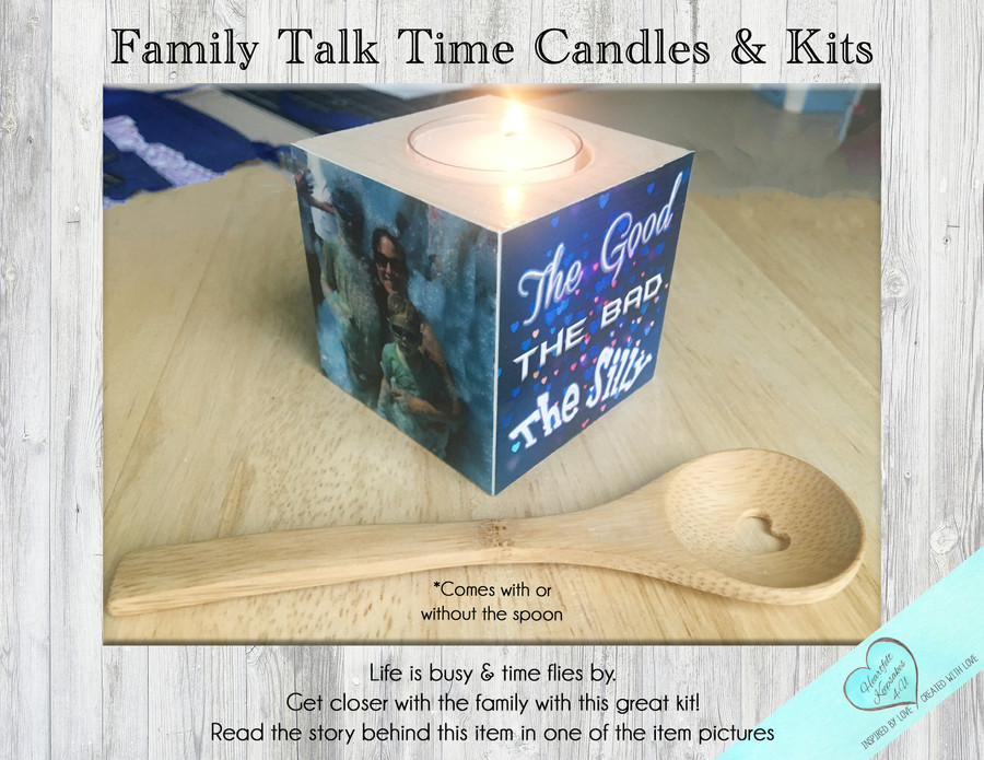 Family Talk Time Candle Kit