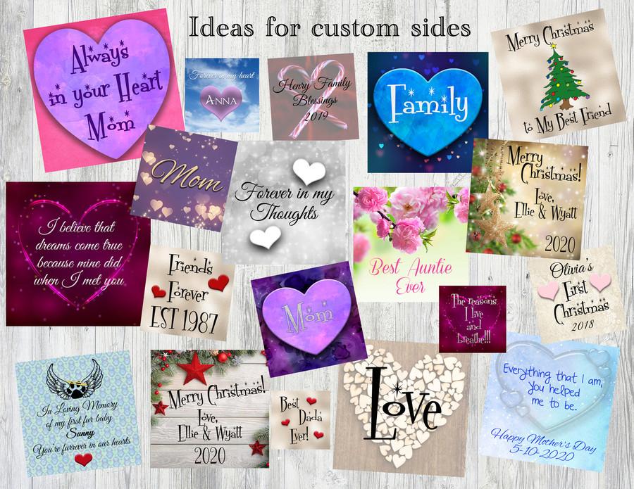 Ideas for custom sides