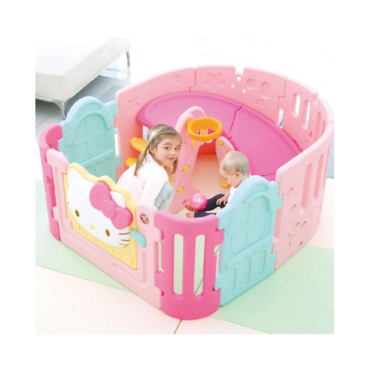 Picture of: Yaya Hello Kitty Spiral Slide Babyroom Baby Square