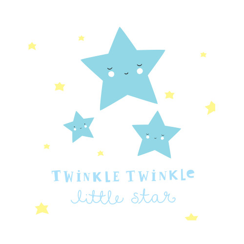 A Little Lovely Wall Stickers Stars