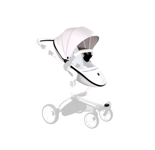 "The patented mima ""carrycot inside"" system means that xari can be used either as a carrycot or as a pushchair."