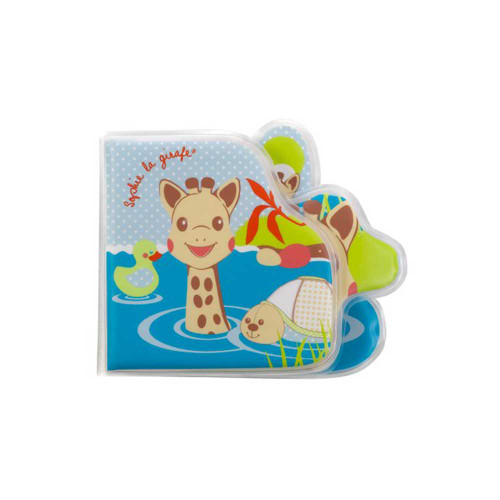 Vulli Sophie the Giraffe Bath Book