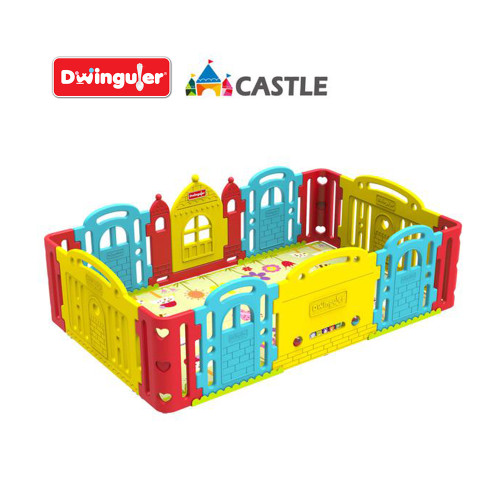 Everyone will fall in love with the Dwinguler Castle, especially your children; after all, they get to be kings and queens with their own little castles!