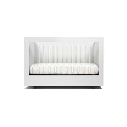 Spot On Square Roh Crib-White- 1 Side Acrylic