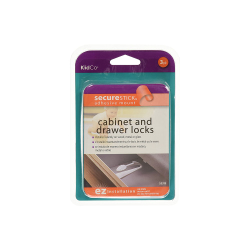 These products are designed to keep cabinets and drawers off limits to little hands.