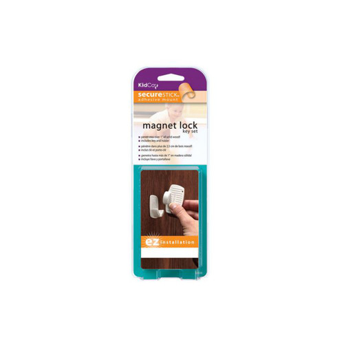 The KidCo Magnet Lock Key Set lets you protect your children by restricting their access to specific areas.