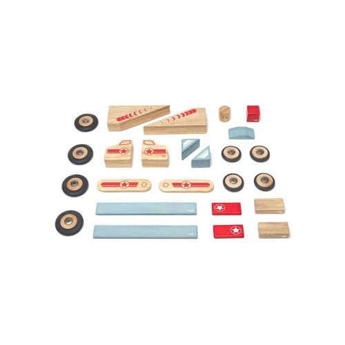 Tegu Magnetic Wooden Blocks Jumper 25P