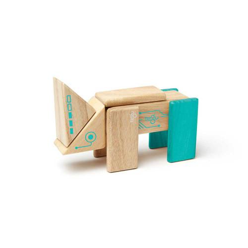 Tegu Magnetic Wooden Blocks Robo 8P