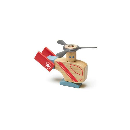 Tegu Magnetic Wooden Blocks Looper 7P