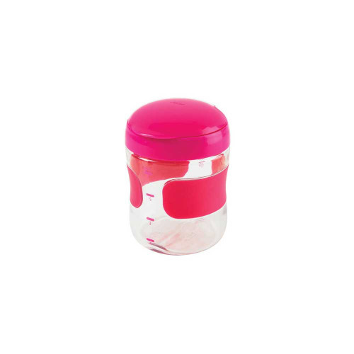 This large 200ml sized OXO tot Flip top Snack Cup is perfect for sharing snacks, long trips or just hungry kids!