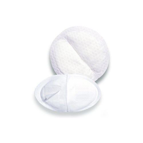 Designed for the comfort of breastfeeding mothers, these disposable breastfeeding pads feature a quilted honeycomb lining that provides leak-proof protection.