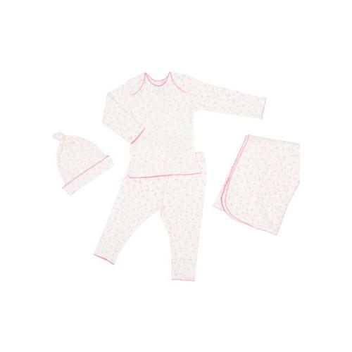 Little Auggie First Layette Box Set Pink