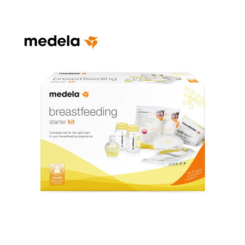 The Breastfeeding Starter Kit is a complete solution for the right start to your breastfeeding experience – whether you are exclusively breastfeeding or also pumping.