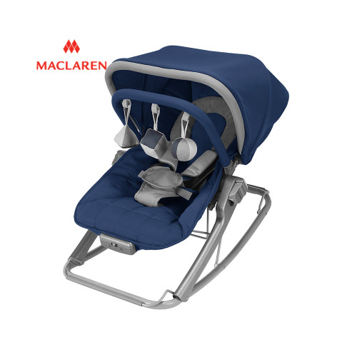 The soothing Maclaren Universal Rocker is comfortable for baby and lightweight for easy portability.