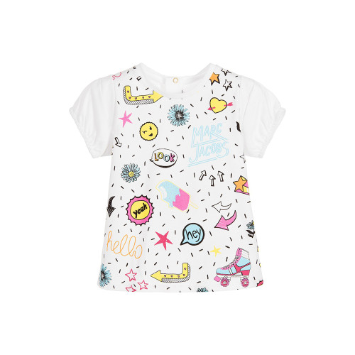Little Marc Jacobs Tee-shirt Colorful Girl