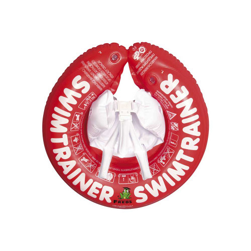 """The SWIMTRAINER """"Classic"""" is specially designed to let babies get acquainted with water and learn correct leg movements."""