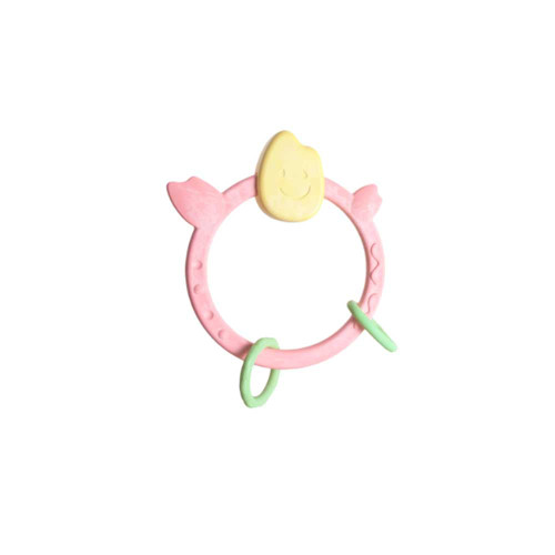 Make teething your newborn's favorite activity with the Mochi Teething Ring.