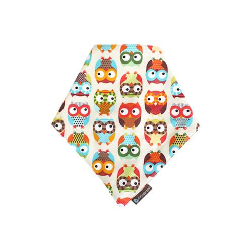 Milo & Gabby Kinderspel Bandana Bib Wonder Owl