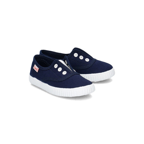 Cienta No Lace Slip-On Sneakers Liso Blue