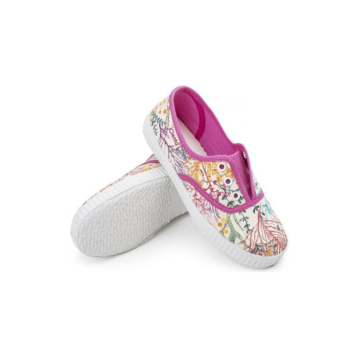 Cienta No Lace Sneakers Rosa Esp Flowers