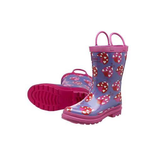 Hatley Classic Kids Ladybug Garden Rainboots