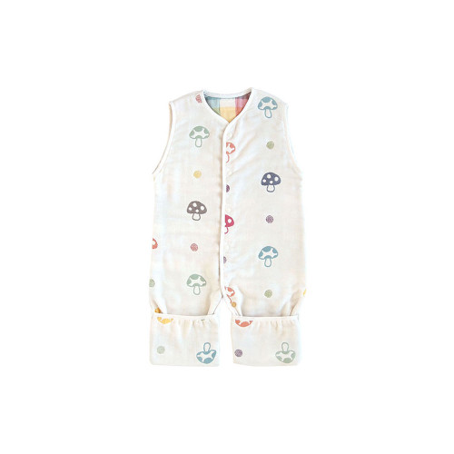 Hoppetta Six Layer 3-Way Gauze Sleeping Vest  6M-7Y