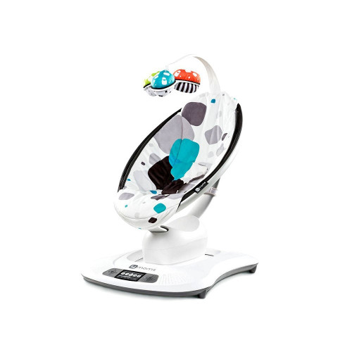 4moms MamaRoo® Infant Seat put sensor vests on parents to understand those motions and then replicated the bouncing and swaying in the mamaRoo to soothe and entertain better than traditional infant seats.