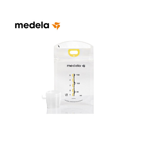 Pumping is made easy with the Medela Pump & Save Bags™. The bags are easy to use, double-walled and pre-sterilized for maximum hygiene & safe storage.