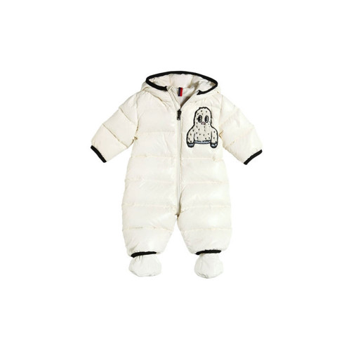 Getting cold is no fun when you're a little person, which is why Moncler's expertise comes into its own in this adorable yet practical snowsuit.