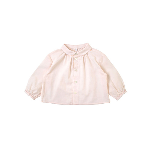 It is a simple shirt made of pure cotton texture.