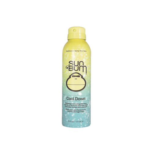 The Sun Bum Cool Down Premium Moisturizing After Sun Spray is enriched with soothing aloe, cucumber extract and vitamin E, providing an intense hydration to gently restore the skin's natural moisture balance.