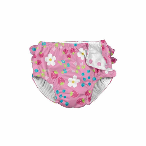I Play Snap Reusable Swimsuit Diaper Daisy