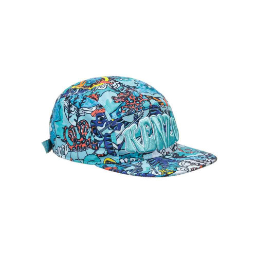 Suitable for boys and girls, this blue limited edition 'Under the sea' theme cap by Kenzo Kids, has a raised embroidery logo on the front and adjustable strap on the back.