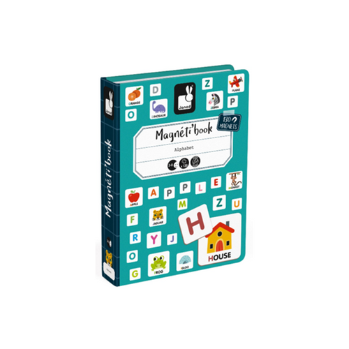 Janod Magnetibook Alphabet - English (New)