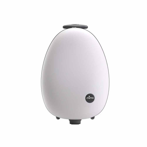 ovi is an oval shaped suitcase with an elegant design in keeping with the rest of the mima range.