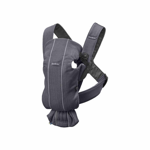 Small, easy-to-use and super-soft baby carrier for newborns