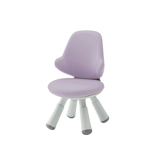 Iloom Wing Chair Artificial Leather Kids Purple