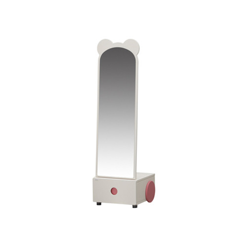 Iloom Make Up Table White Large Mirror