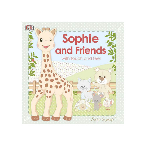 Meet Sophie, everybody's favorite French giraffe, and all of her friends - Gabin, Josephine, Kiwi, Lazare, and Margot, in this delightful new board book.