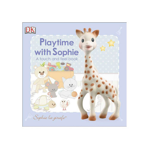 Playtime with Sophie is a delightful touch-and-feel book about best-selling teether, Sophie the Giraffe.