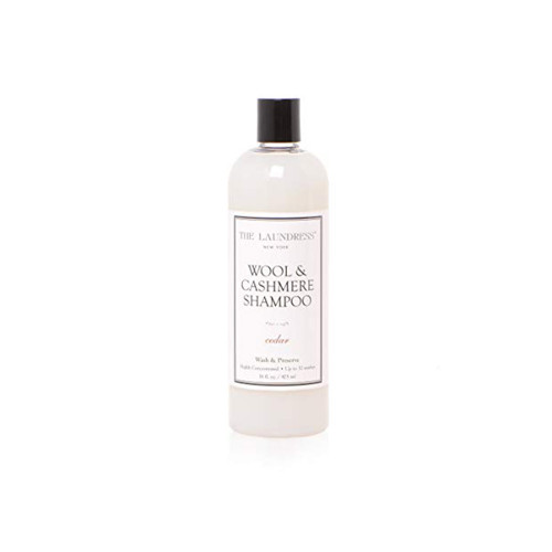 This pH-neutral fabric wash is gentle on the natural fibers of wool, cashmere, merino, mohair, and more.