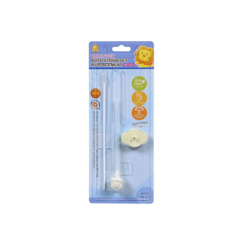 Simba Wide Neck Auto Straw Set Replacement