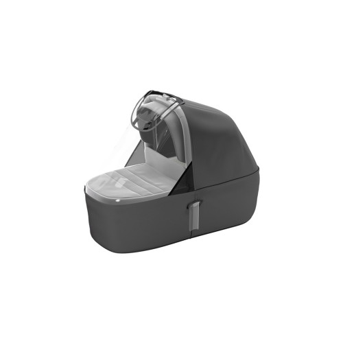 Thule Sleek Bassinet transforms your Thule Sleek into a pram, and can convert it from single to double stroller as your family grows.