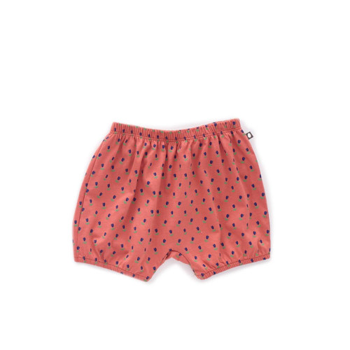Oeuf Bubble Shorts Rust/Tulips