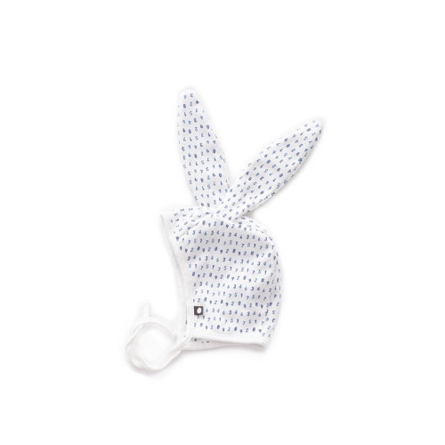 Oeuf Bunny Hat White and Numbers